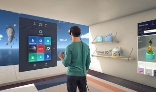 Microsoft Windows 10 Creators Update VR AR MR User Interface