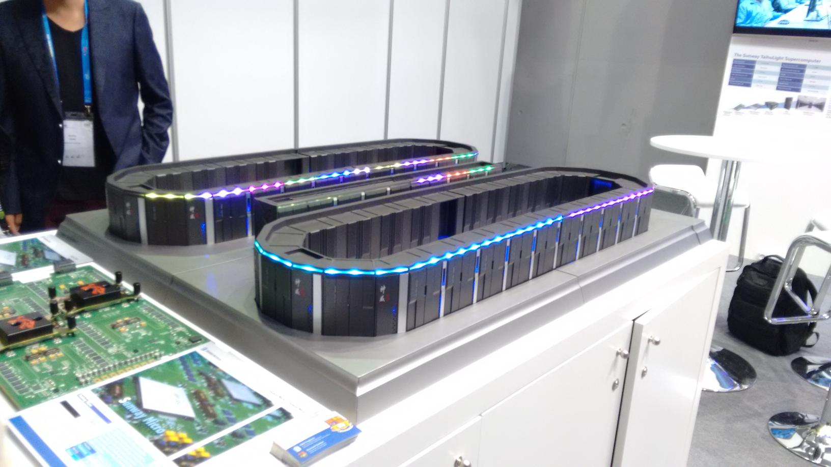 The Sunway TaihuLight Supercomputer installed at the National Supercomputing Center in Wuxi