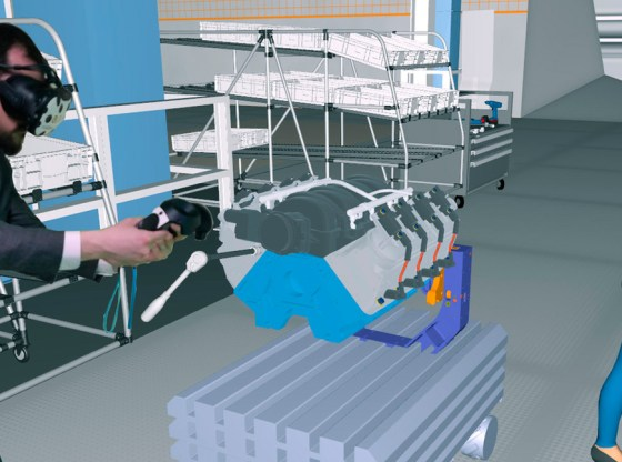 ESI Group and Diota combine VR and AR for manufacturing