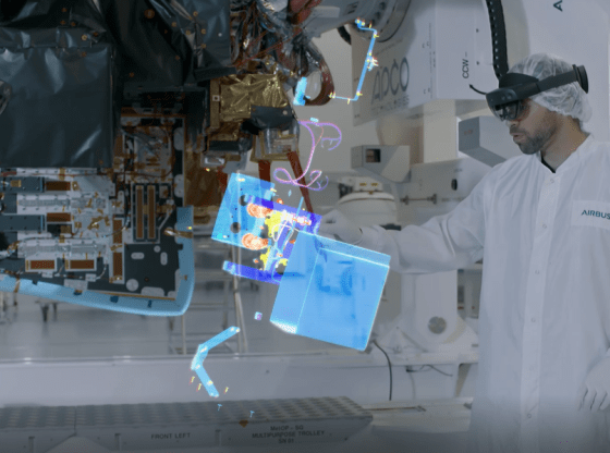 Airbus partners with Microsoft for HoloLens 2 solutions