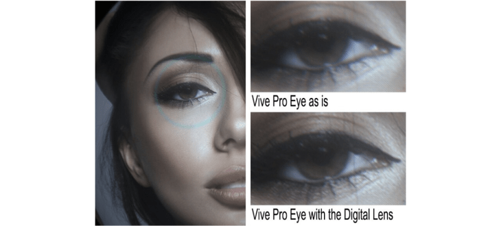 Almalence digital lens boosts visual performance of Vive Pro Eye