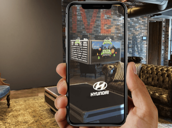 Hyundai and Live Nation - Get in on the AR