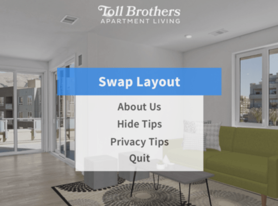 roOomy and Toll Brothers Apartment Living create app for Magic Leap 1