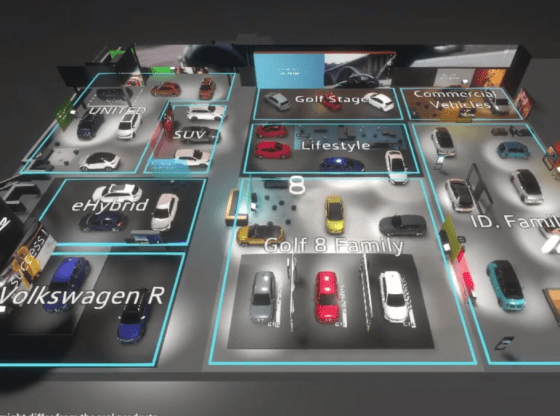 Volkswagen virtual motor show will put cars in front of more people