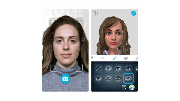 A companion HTC Vive Sync Avatar Creator mobile app, which is available on Apple App Store and Google Play, enables participants to create personalised and dynamic avatars built in their likeness to serve as their digital representation