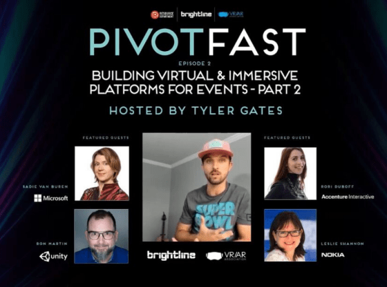 Pivot Fast - building immersive and virtual platforms for events