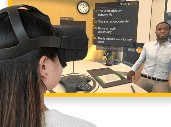 PwC study, powered by Vive X graduate Talespin technology proves effectiveness of VR for soft skills training