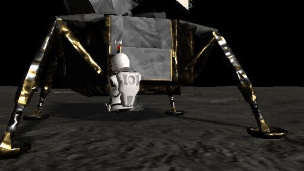VictoryXR Academy lets you teleport Star Trek-style to the moon and see a full-scale recreation of the Apollo 11 moon lander