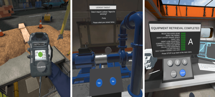 FreeRangeXR and HTC Vive develop workplace safety training solution 1