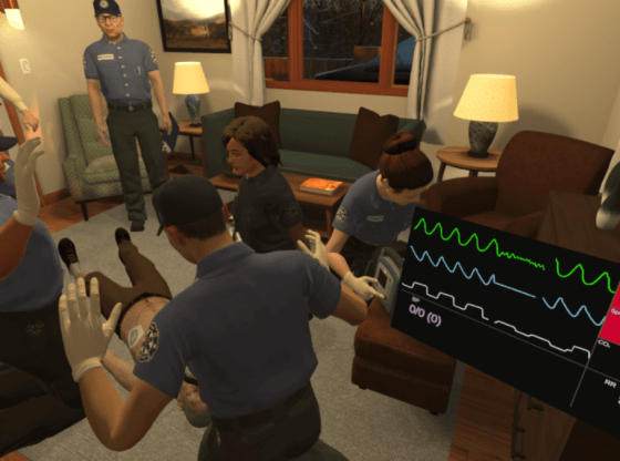 Health Scholars and CareerCert partner on VR training
