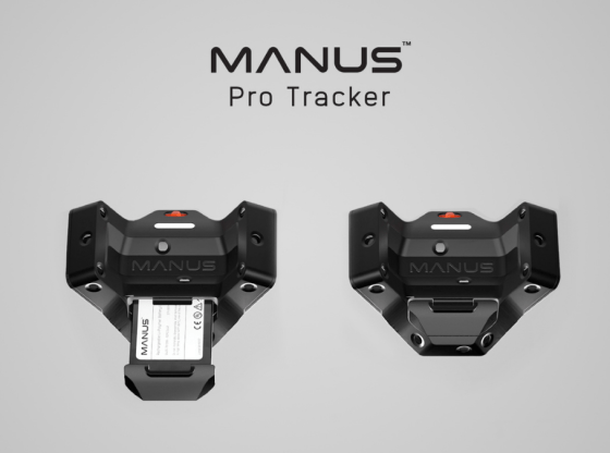 Manus launches first professional SteamVR tracker 1