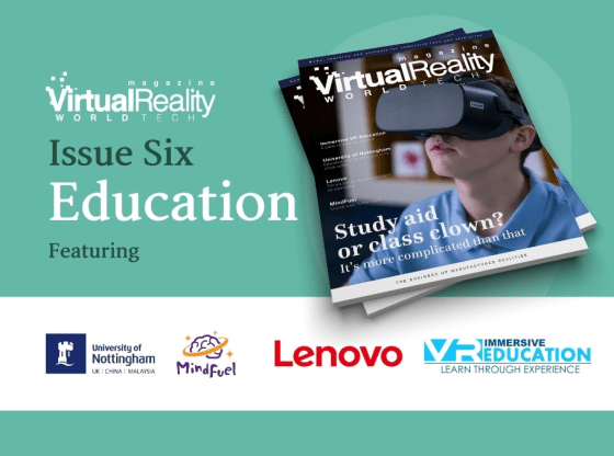 VRWorldTech Magazine 6 - take a look at the cover and contents 3
