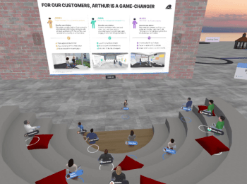 Arthur boosts collaboration and productivity with new updates to VR office solution - Main