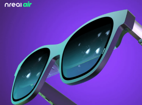 Nreal Air smart glasses to arrive later this year - Close-up of the Nreal Air smart glasses