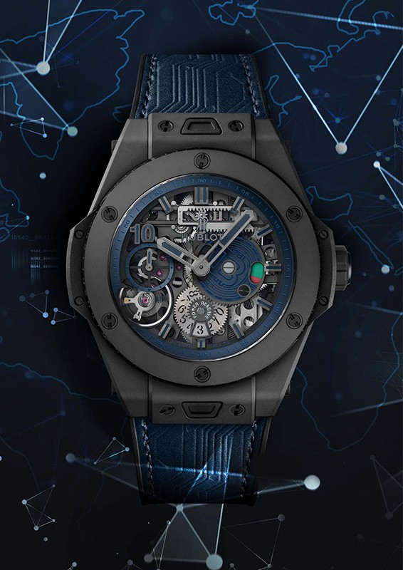 nfts virtual outfit created by hublot for 3d virtual spaces