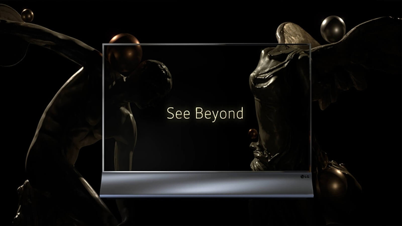 3D product animation for LG Display to show modern business growth