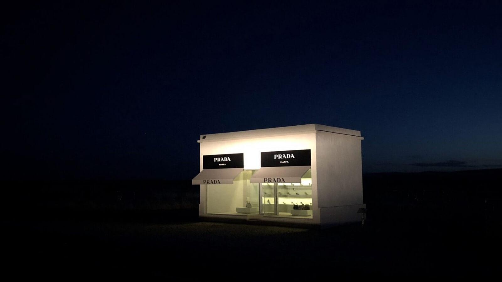 prada luxury brand marketing for a digital advertising