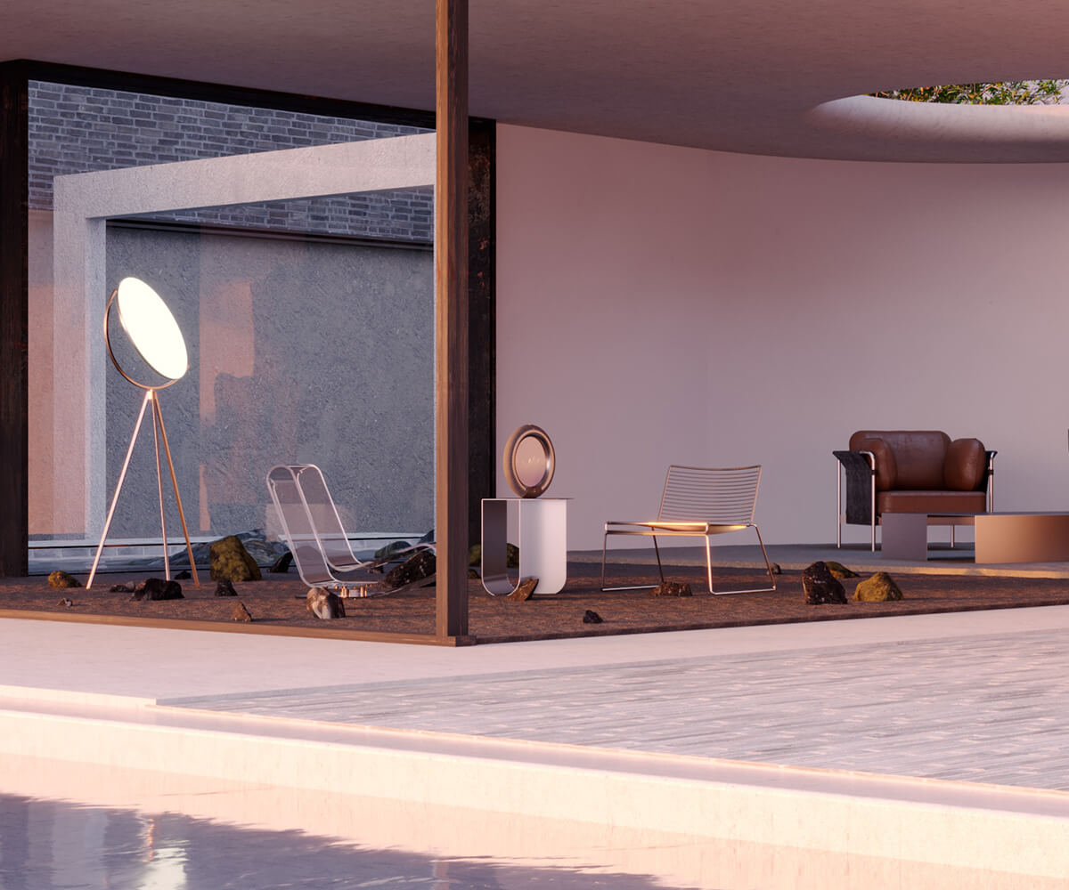 A 3D Virtual Space created by VSLB a 3d creative studio