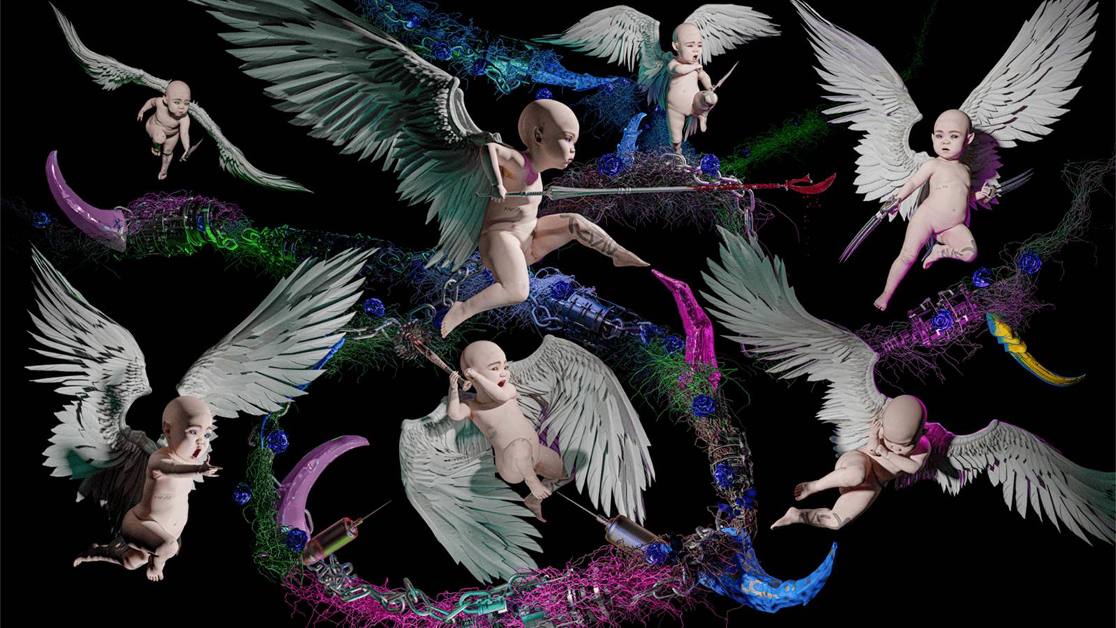 Grimes's NFT Digital Art