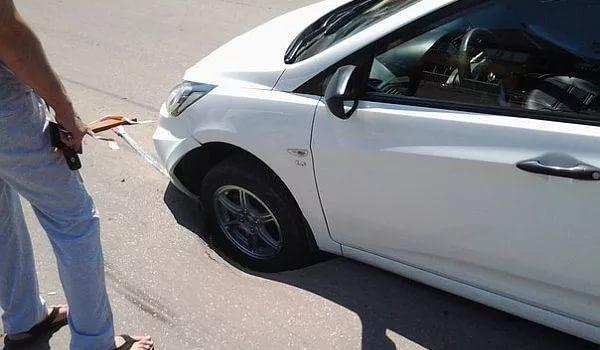 Пробил колесо на дороге. Что делать?