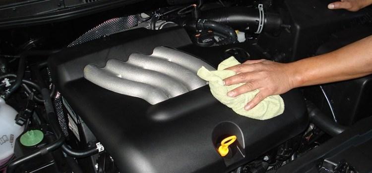 Как мыть двигатель. Советы