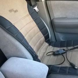 Накидка с подогревом для авто сидения. Как выбрать