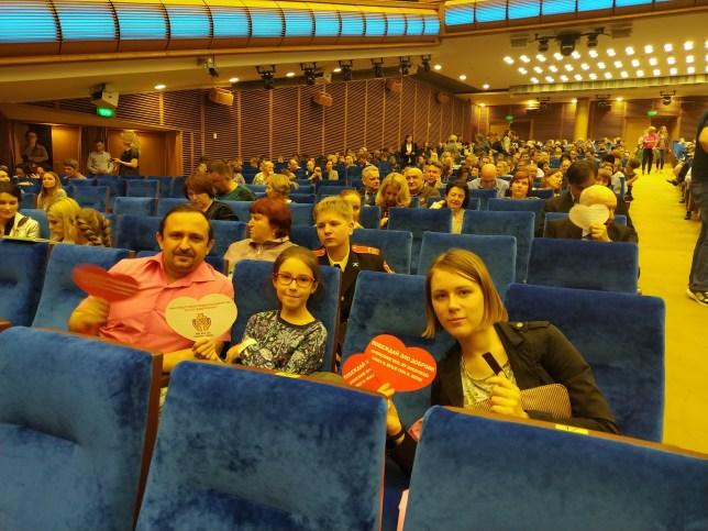 v foje 7 1024x768 - Отчёт о Спектакле-концерте в Кремле 25.04.2019