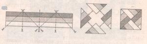 схема лоскутного шитья