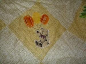 аппликация на лоскутном одеяле