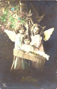 старинная рождественская открытка5