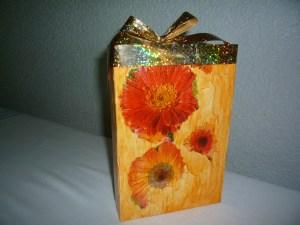 готовая коробочка с подарком
