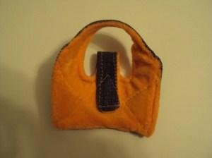 верхняя часть сандалии изнутри
