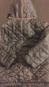 куртка детская вид со спины