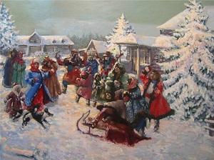 рождество до революции