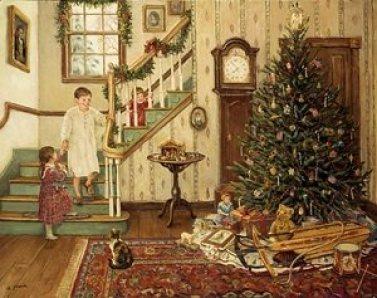 дети ждут рождество