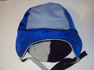 шапка-ушанка с подкладкой