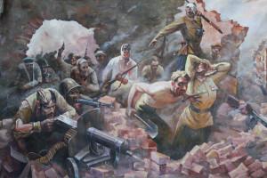 картина защита Брестской крепости
