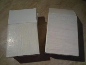 сушим коробки