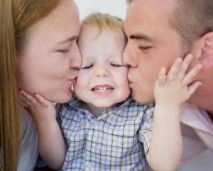 счастливые родители