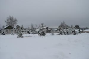 село Кукобой зимой