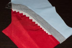 аппликация акульей пасти