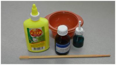ингредиенты для лизуна в домашних условиях