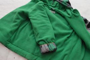 подкладка детской куртки