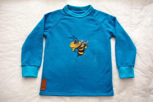 детская футболка с длинными рукавами