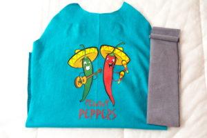 термотрансфер на детской футболке
