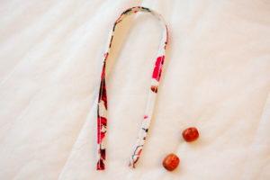 завязка бантик для детской трикотажной юбки