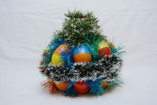 новогодняя игрушка на большую елку