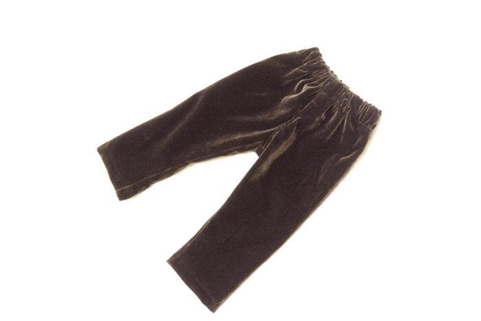 детские штаны на резинке вид спереди