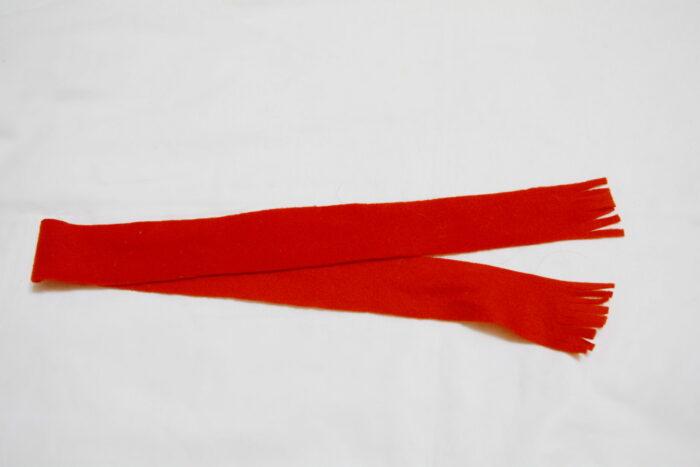 шарф для новогоднего оленя