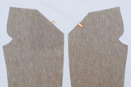 декоративные канты на передних карманах детских шорт